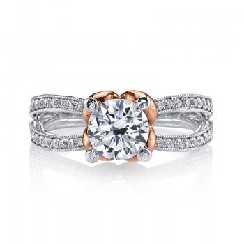 MARS R256 Diamond Engagement Ring 0.20 Ctw.