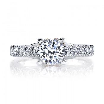 MARS R261 Diamond Engagement Ring 1.22 Ctw.