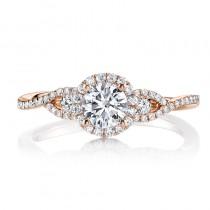 MARS 25386 Diamond Engagement Ring 0.08 Ctw.