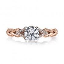 MARS 25816 Diamond Engagement Ring 0.08 Ctw.