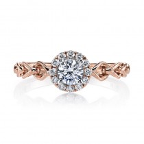 MARS 25823 Diamond Engagement Ring 0.15 Ctw.