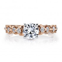MARS 25831 Diamond Engagement Ring 0.25 Ctw.