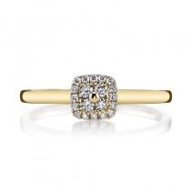 MARS 26120 Diamond Engagement Ring, 0.18 Ctw.