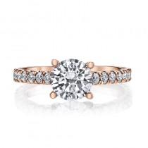 MARS 26562 Diamond Engagement Ring 0.52 Ctw.