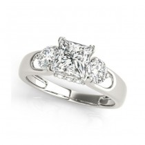 Two Tone Engagement Ring 84597