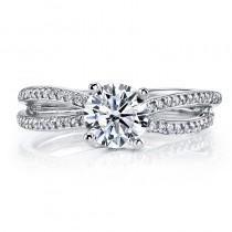 MARS A11 Diamond Engagement Ring 0.26 Ctw.