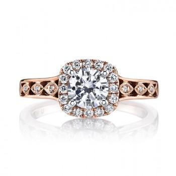 MARS 25833 Diamond Engagement Ring 0.24 Ctw.