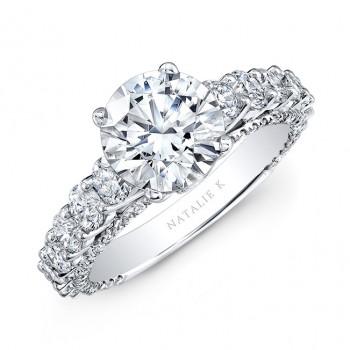 Platinum Classic Diamond Engagement Ring